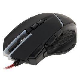 Мышь лазерная игровая QCYBER ALIEN,10000 DPI, 9 программируемых кнопок, регулируемый вес, USB2.0, настраиваемая подсветка, П.О.