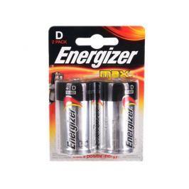 Батарейки Energizer Max D/LR20 2шт. в блистере (E300129200/E301003900)