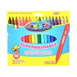 Набор фломастеров Universal CARIOCA JOY 2 мм 18 шт разноцветный 40555/18