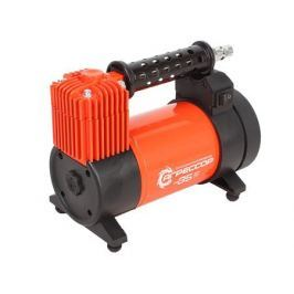 Компрессор автомобильный Агрессор AGR-35L, металлический, 12V, 180W, производ-сть 35 л./мин., LED фонарь, сумка, 1/6