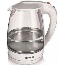 Чайник Gorenje K17GWII 2200 Вт белый 1.7 л стекло