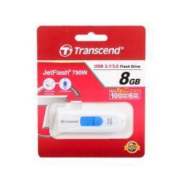 Флешка USB 8Gb Transcend Jetflash 790 TS8GJF790W белый