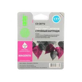 Картридж Cactus CS-C8772 №177 (пурпурный) для HP PhotoSmart 3213/3313/8253/C5183/C6183/C6283/C7183/C7283/C8183/D7163/D7263/D7363/D7463