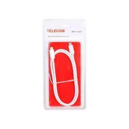 Кабель USB 3.1 Type Cm -- Cm с IC данные10Гб/с номинальный ток 5А длина 1M, Telecom (TC420) блистер