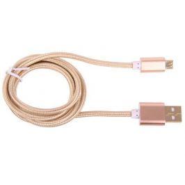 Кабель GINZZU GC-558UG, USB data-кабель, 5pin микро-USB, золотой, 1м
