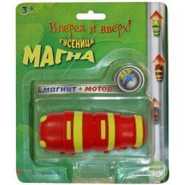 Интерактивная игрушка ECLIPSE TOYS Гусеница Магна (красная) MM8930R