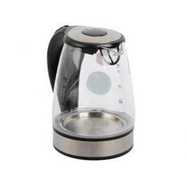 Чайник Vitek VT-7008 TR 2200 Вт 1.7 л пластик/стекло чёрный