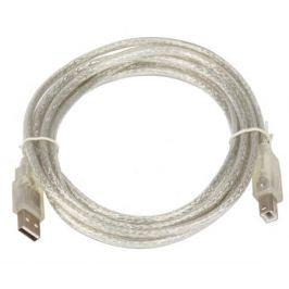 Кабель USB 2.0 AM/BM 3m Telecom прозрачная изоляция (VUS6900T-3MTP)