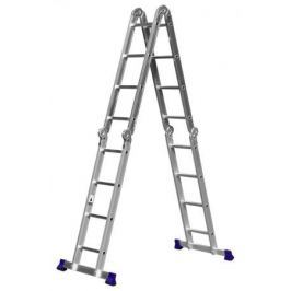 Лестница-трансформер Сибин алюминиевая 38852