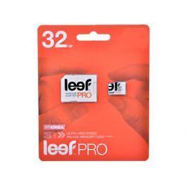 Карта памяти MicroSDHC 32GB Leef Class10 PRO (LFMSDPRO-03210R)