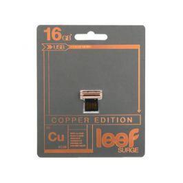 Внешний накопитель 16GB Leef SURGE copper (LFSUR-016COP)