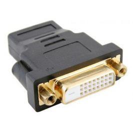 Переходник Orient C489 HDMI F - DVI F (24+1), позолоч.разъемы