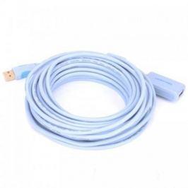 Кабель удлинительный USB 2.0 AM-AF 5.0м Vention VAS-C01-S500 с усилителем