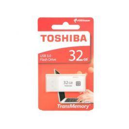 Флешка USB 32Gb Toshiba Hayabusa THN-U301W0320E4 USB3.0 белый