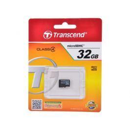 Карта памяти MicroSDHC 32GB Transcend Class4 no Adapter (TS32GUSDC4)