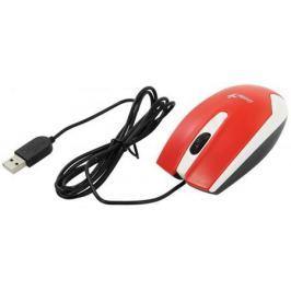Мышь проводная Genius DX-100X Бело-Красный USB
