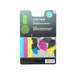 Заправка Cactus CS-RK-CZ638 для HP DeskJet 2020/2520 цветной 90мл