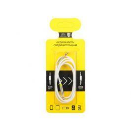 Аудиокабель соединительный Jet.A mini Jack-mini Jack JA-AC01 1 м белый (PVC, 3 pin/3.5 мм)