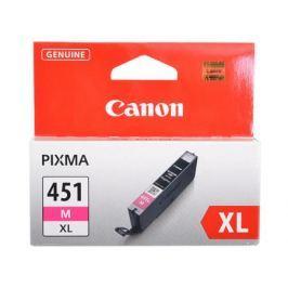 Картридж Canon CLI-451M XL для MG6340, MG5440, IP7240 . Пурпурный. 660 страниц.