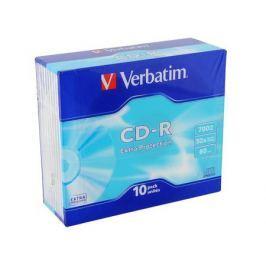 CD-R Verbatim 700Mb 52x SlimCase 10шт