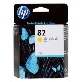 Картридж HP CH568A (№82) желтый 28мл Designjet 500/510