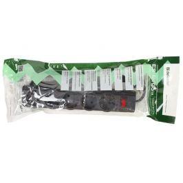 Сетевой фильтр Defender ES largo черный 1,8 м, 5 розеток
