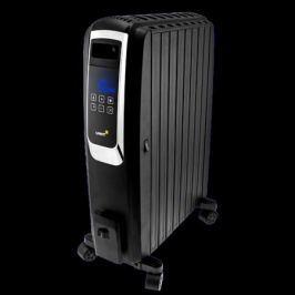 Масляный обогреватель UNIT UOR-993 2000Вт, Закрытый, Управление - Сенсорный LCD дисплей, цифровой термостат, пульт д.у. Цвет: Черный