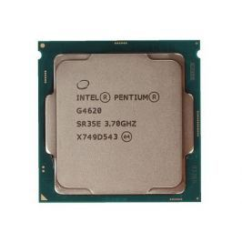 Процессор Intel Pentium G4620 OEM TPD 51W, 2/4, Base 3.70GHz, 3Mb, LGA1151 (Kaby Lake)