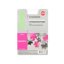 Картридж Cactus CS-PGI2400XLM для Canon MAXIFY iB4040/МВ5040/МВ5340 пурпурный