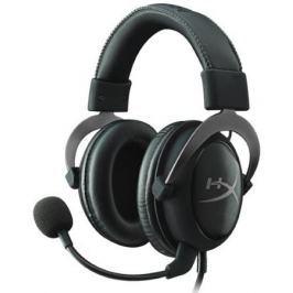 Гарнитура HyperX Cloud II (KHX-HSCP-GM) Black Silver Проводные / Накладные с микрофоном / Черный-серебристый / 15 Гц - 25 кГц / 98 дБ / Mini-jack, USB / 3.5 мм