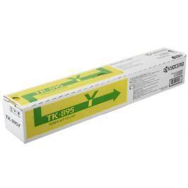 Тонер Kyocera TK-895Y для FS-C8020MFP/C8025MFP. Жёлтый. 6000 страниц.