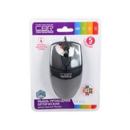 Мышь проводная CBR CM-373 чёрный USB