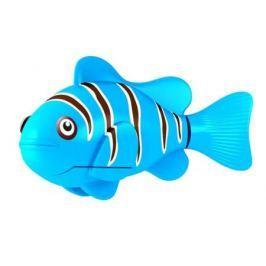 Интерактивная игрушка ZURU Robofish Клоун электронная рыба робот от 3 лет голубой 2501-3