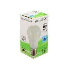 Светодиодная лампа НАНОСВЕТ E27/827 EcoLed L161 8Вт, шар, 680 лм, Е27, 4000К, Ra80