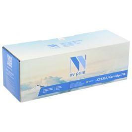 Картридж NV-Print совместимый HP CC532A/Canon 718 YELLOW для LJ Color CP2025/CM2320/Canon i-SENSYS LBP-7200C/MF8330C/8350C (2800k)