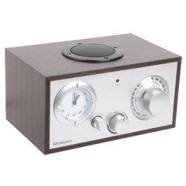 Часы с радиоприемником Rolsen RFM-200 венге