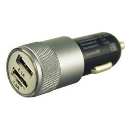 Автомобильное зарядное устройство Buro TJ-189 2.1/1А 2х USB черный