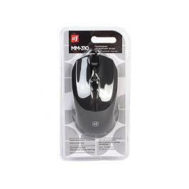 Мышь проводная Defender MM-310 черный,3 кнопки,1000 dpi, USB