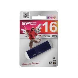 USB флешка Silicon Power Ultima U05 Blue 16GB (SP016GBUF2U05V1D)