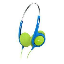 Наушники Philips SHK1030/00 Проводные / Детские / Синий, зеленый / 10 Гц - 24 кГц / 106 дБ / mini jack 3.5 mm