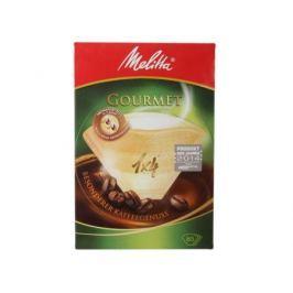 Фильтры бумажные д/заварив.кофе 1х4/80 гурме, коричневые