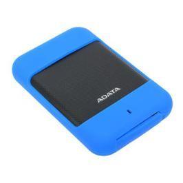 Внешний жесткий диск 1Tb Adata HD700 AHD700-1TU3-CBL синий (2.5