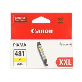 Картридж Canon CLI-481XXL Y EMB для TS6140/TS8140/TS9140/TR8540. Жёлтый. 824 страниц.