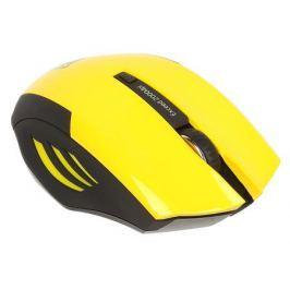Беспроводная мышь Jet.A OM-U54G Yellow Comfort (1200/1600/2000dpi, 5 кнопок, USB)