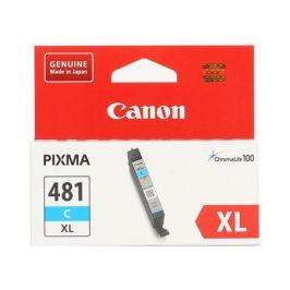 Картридж Canon CLI-481XL C EMB для TS6140/TS8140/TS9140/TR8540. Голубой. 519 страниц.