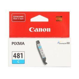 Картридж Canon CLI-481 C EMB для TS6140/TS8140/TS9140/TR8540. Голубой. 259 страниц.