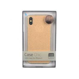 Чехол Deppa 85340 Chic Case для Apple iPhone X, золотой кейс, полиуретан