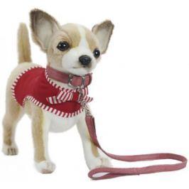 Мягкая игрушка Hansa Чихуахуа в красном, 27 см 6383