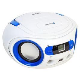 Аудиомагнитола BBK BS15BT белый/голубой