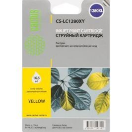Картридж Cactus LC-1280XY для Brother MFC-J6510/6910DW желтый